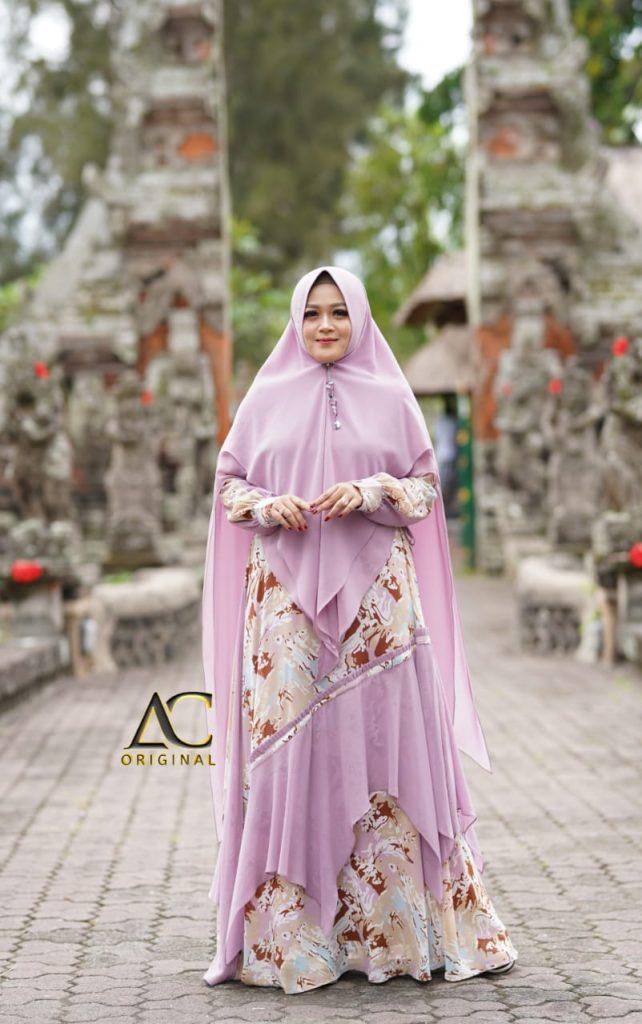 dress syari 2021 muslimah