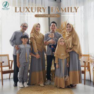 model baju muslim seragam keluarga idul fitri 2021