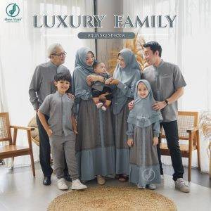 model baju seragam keluarga lebaran 2021