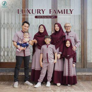 model baju seragam muslim keluarga terbaru 2021