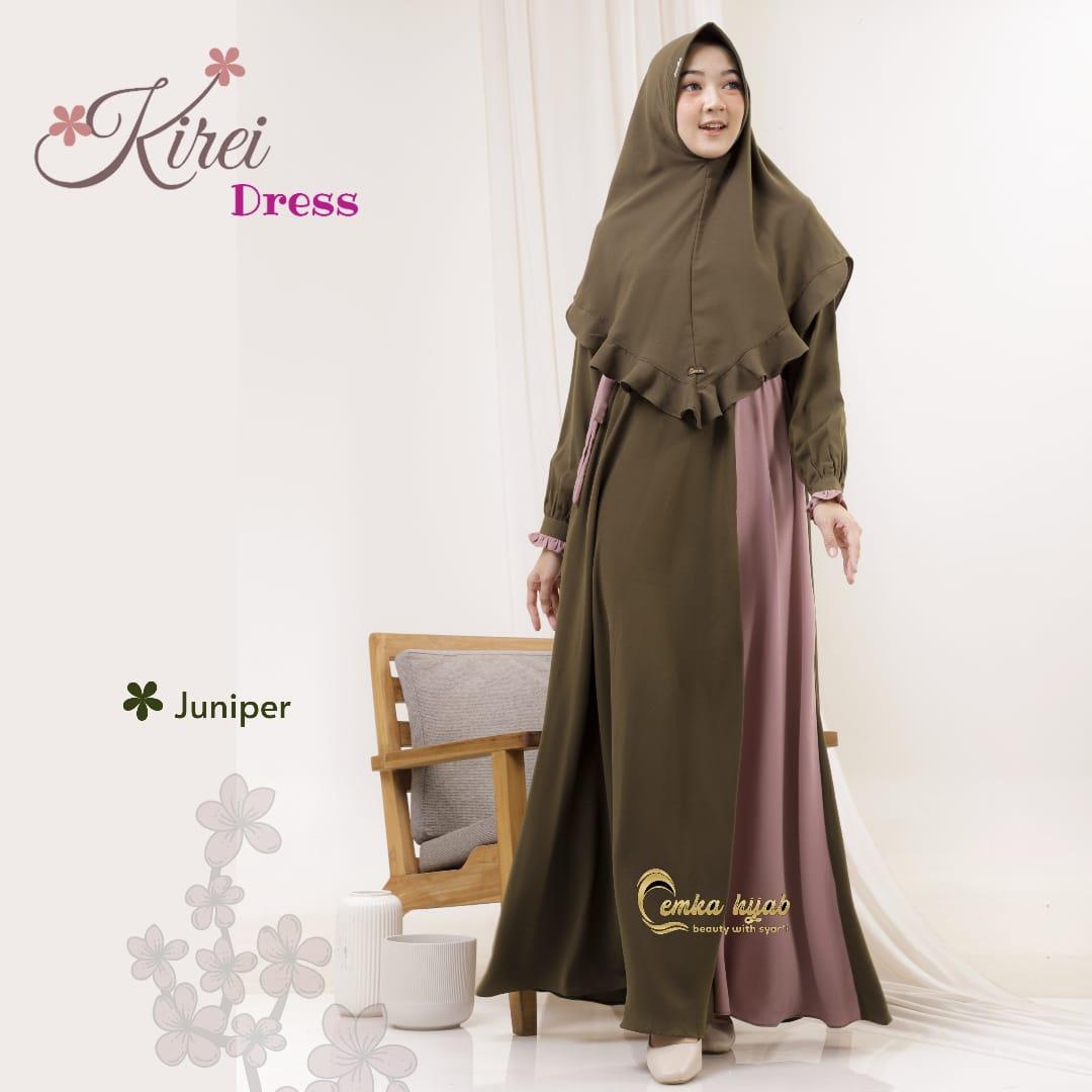 Model Gamis Syari Kantoran Terbaru 2021 Kirei Dress Butik Muslimah Online Jual Baju Gamis Branded Syari Terbaru