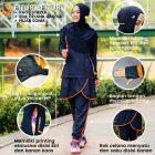 setelan jogging wanita hijab