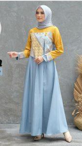 dress batik muslimah 2021