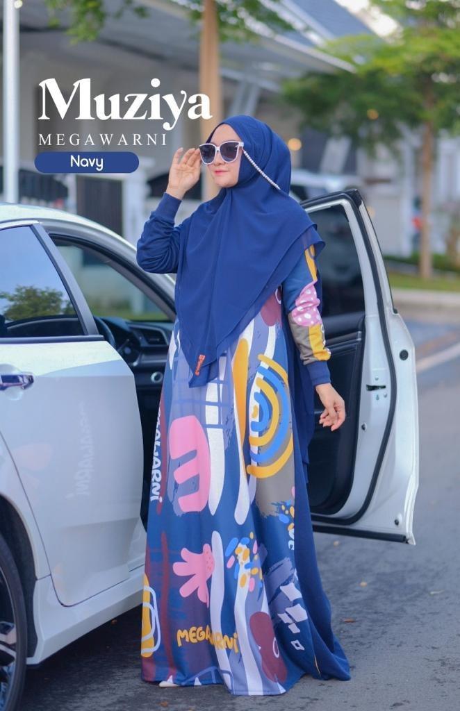 dress muslimah 2021