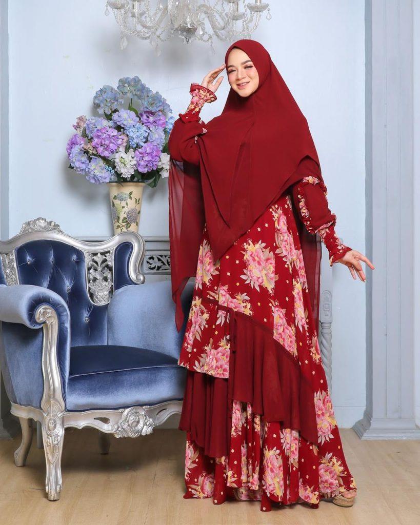 dress muslimah syari 2021