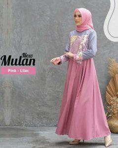 gamis batik muslimah 2021