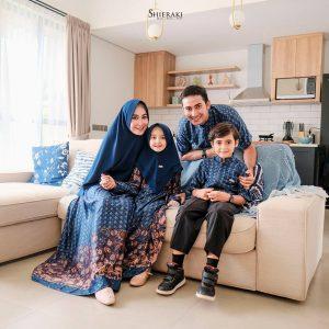 gamis batik sarimbit terbaru 2021