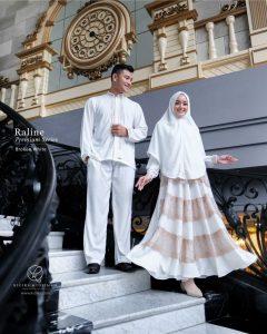 Model Baju Gamis Couple Pasangan Terbaru Edisi Lebaran 2021