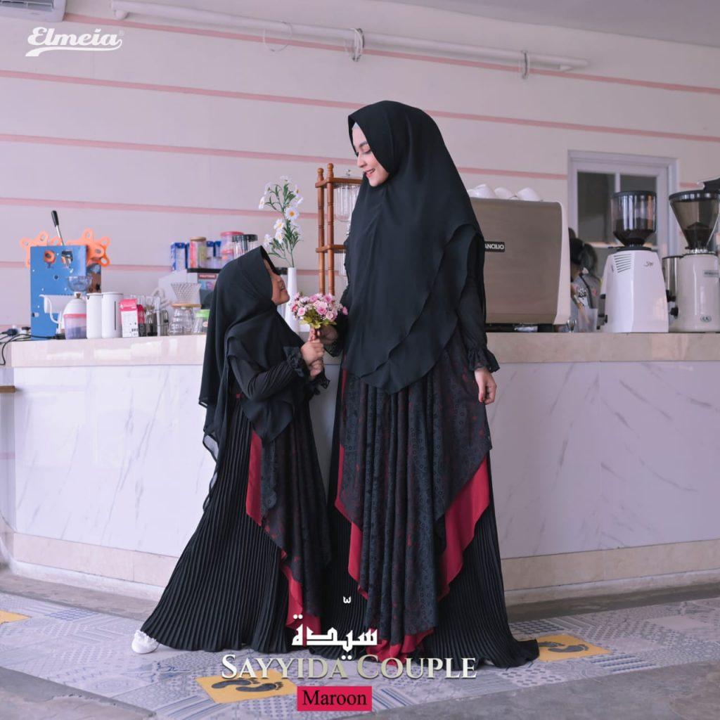 gamis couple ibu anak perempuan 2021