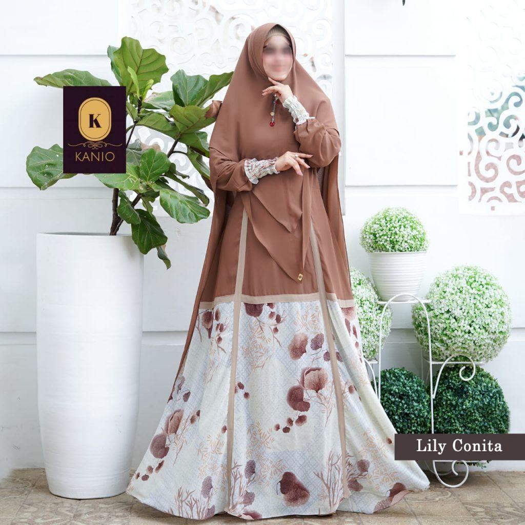 gamis syari fashionable 2021