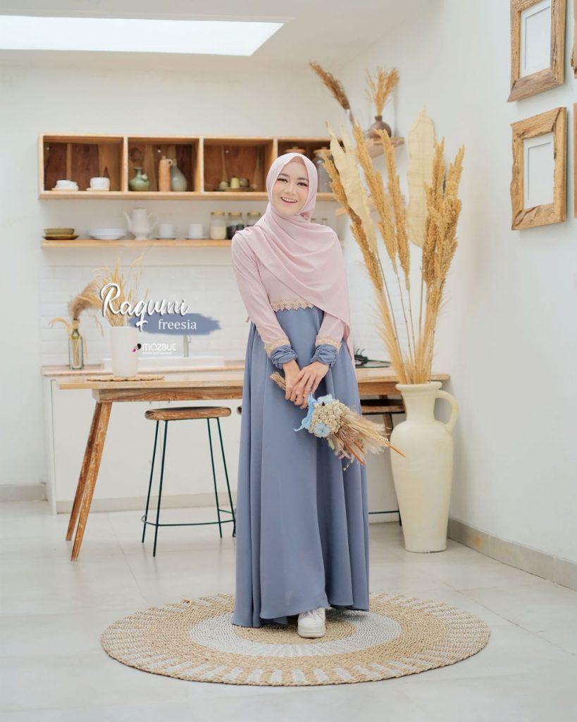 merk gamis mozbue indonesia