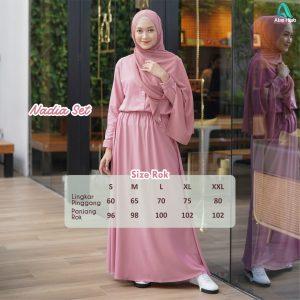 baju tunik wanita muslimah