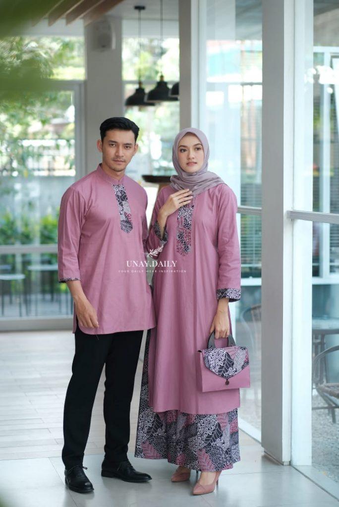 model baju tunik batik terbaru 2021