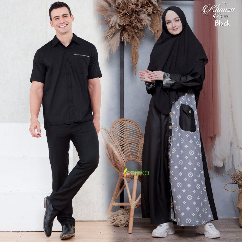 model gamis couple pasangan 2021