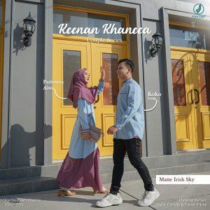 baju couple lebaran 2022 alwa hijab