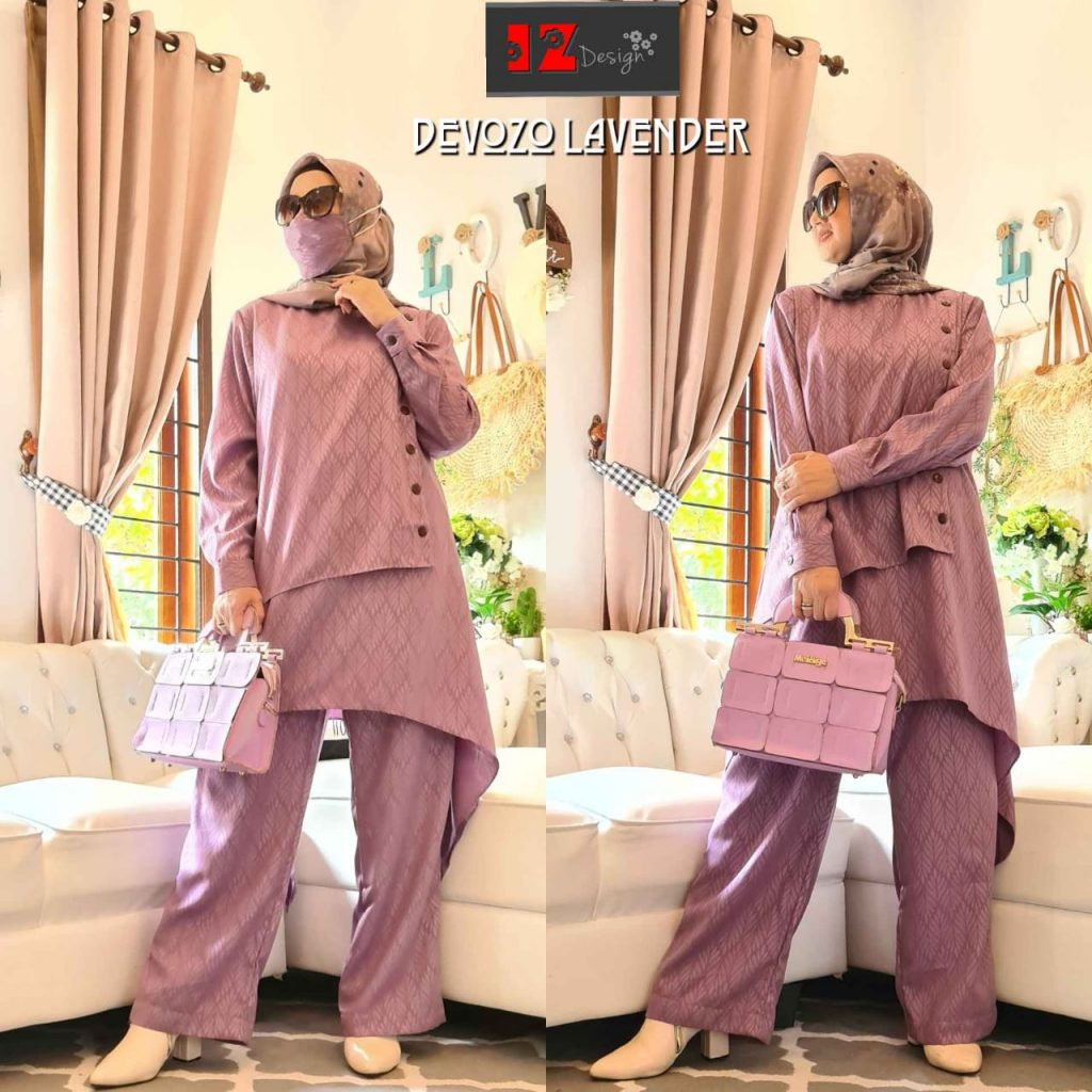 baju tunik wanita muslimah 2021 2022