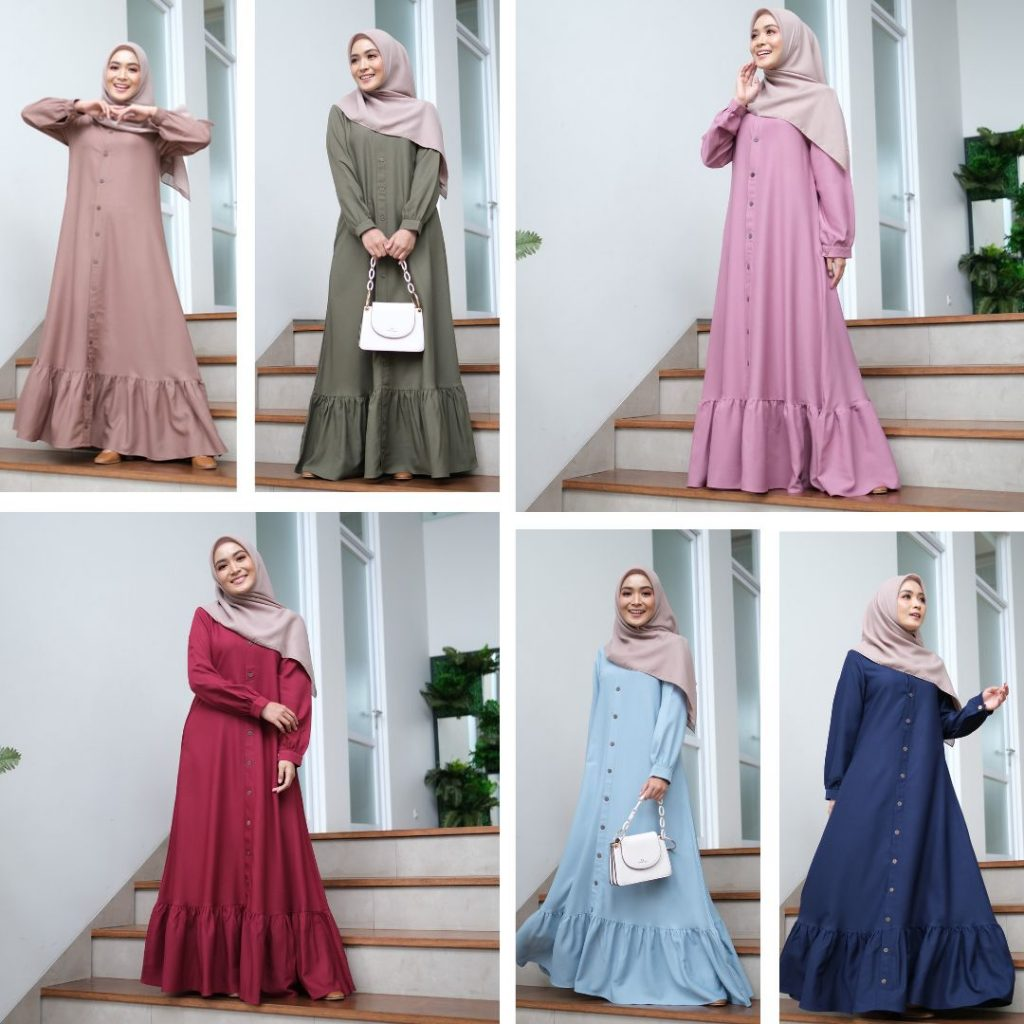 dress abaya muslim 2021 2022 terbaru