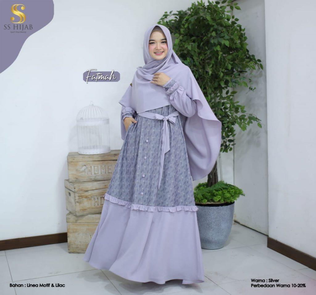 dress muslimah 2021 2022