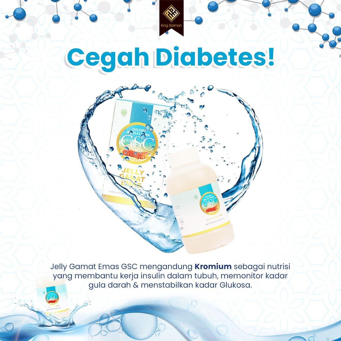 jelly gamat emas untuk penderita diabetes