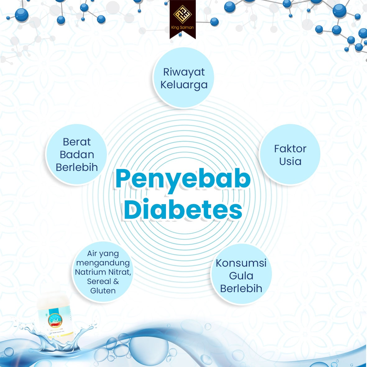 penyebab diabetes secara umum