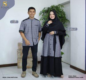 model gamis couple pasangan 2021 2022