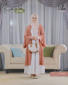 outer wanita hijab 2021 2022