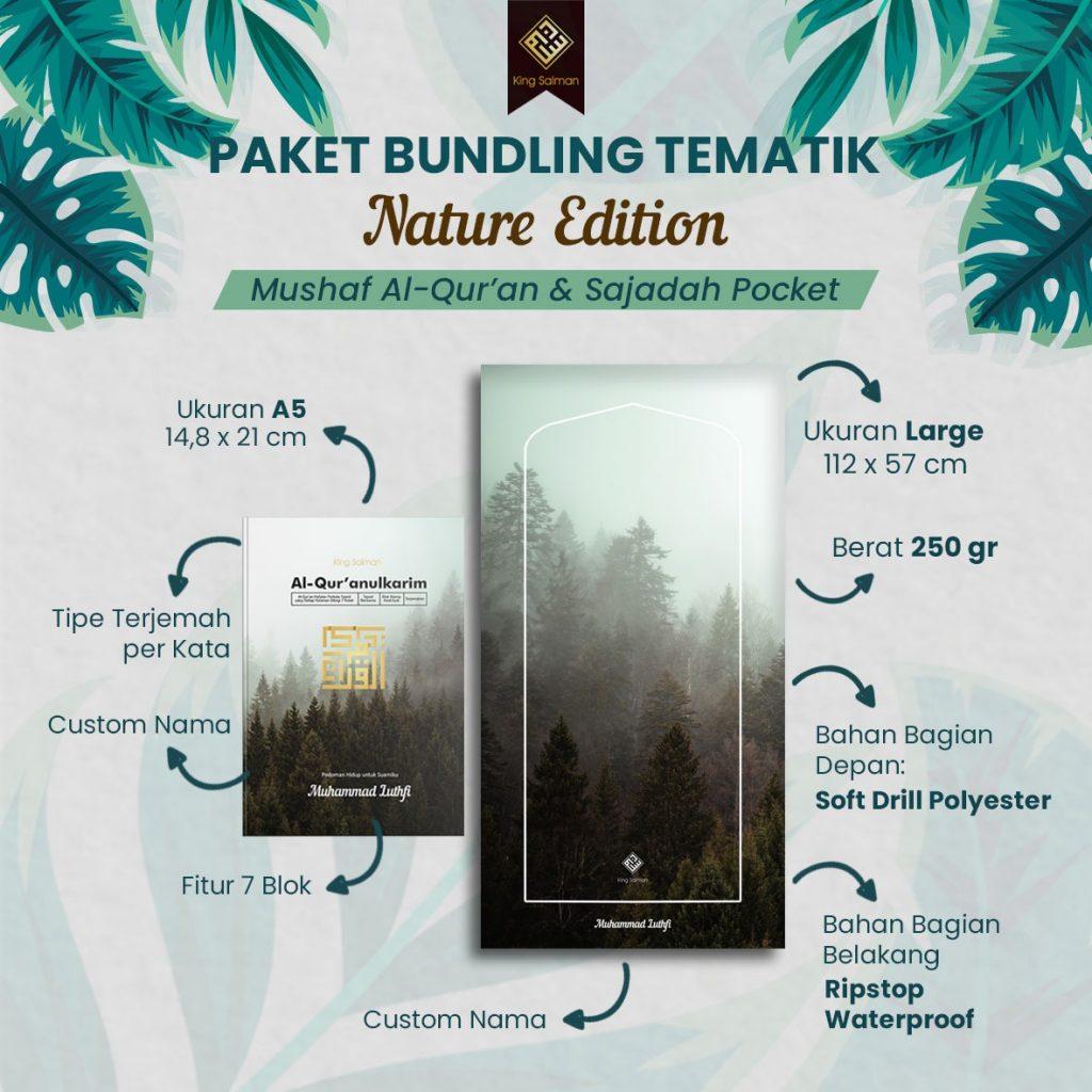 paket bundling Al Quran Sajadah Premium