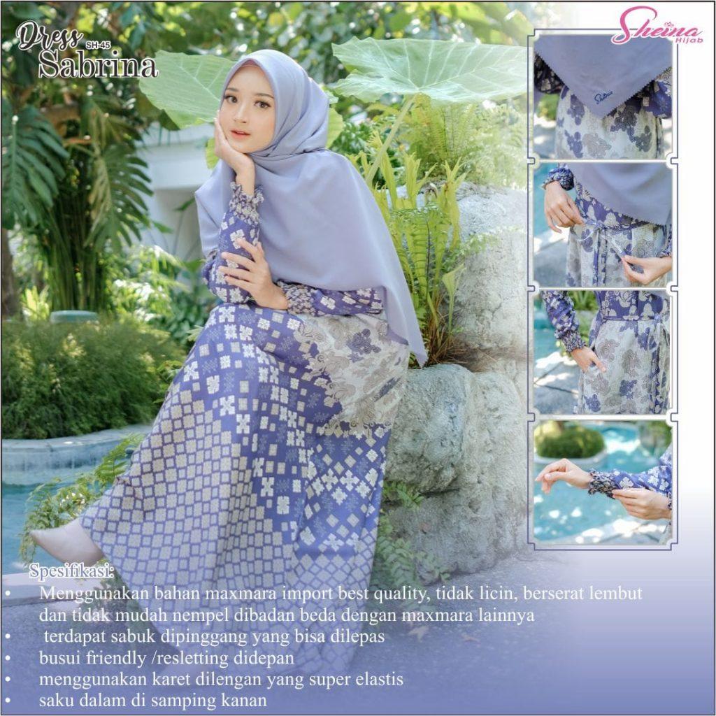 gamis wanita muslim cantik 20212022