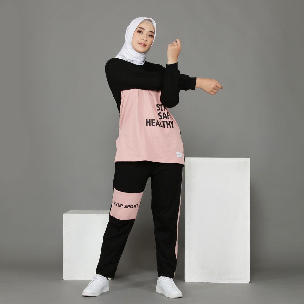 baju olahraga wanita muslimah terbaru 2021 2022