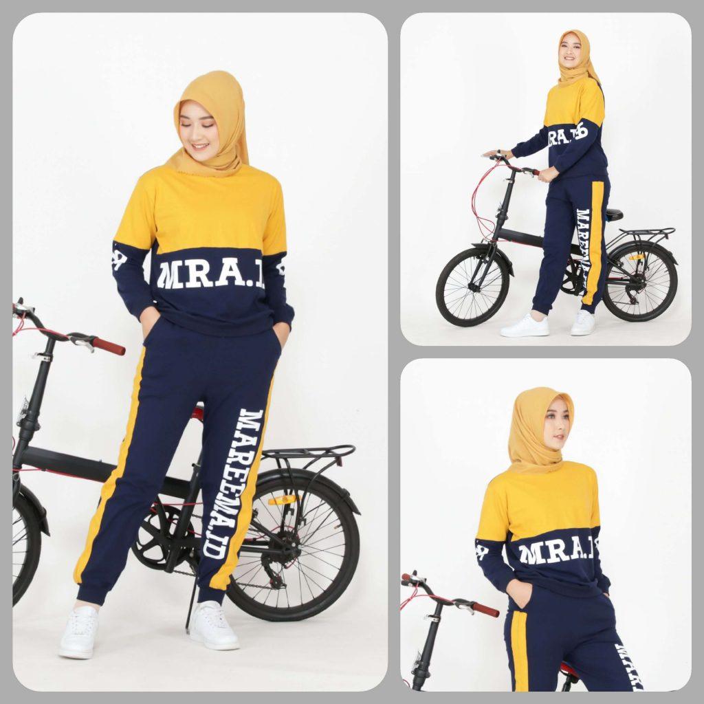 pakaian olahraga wanita muslim terbaru