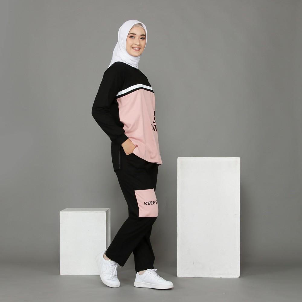 setelan baju olahraga wanita hijab 2021 2022