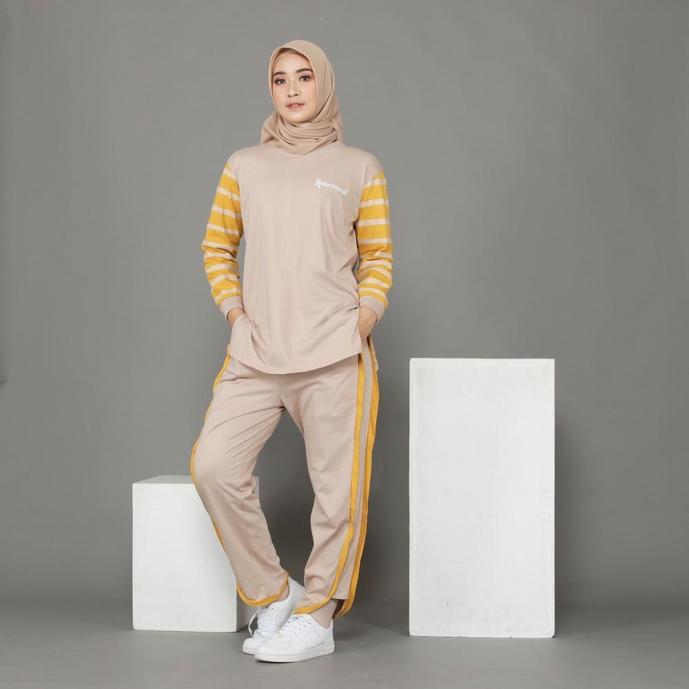model setelan baju santai wanita 2021 2022