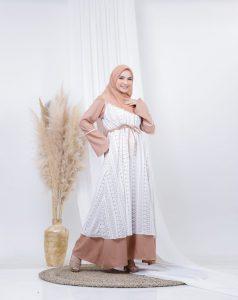 dress pesta muslimah 2021 2022