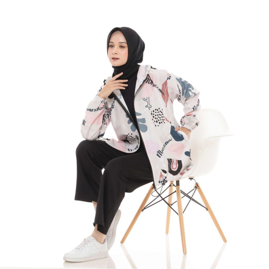 jaket hoodie wanita original branded