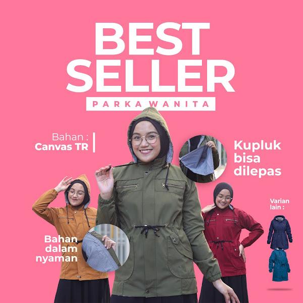 jaket parka wanita muslimah 2021 2022