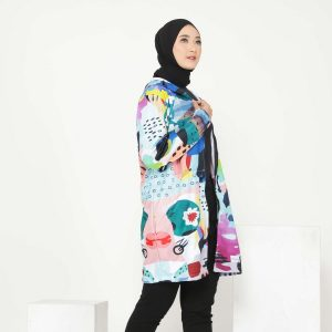 jaket olahraga wanita muslimah hijabers