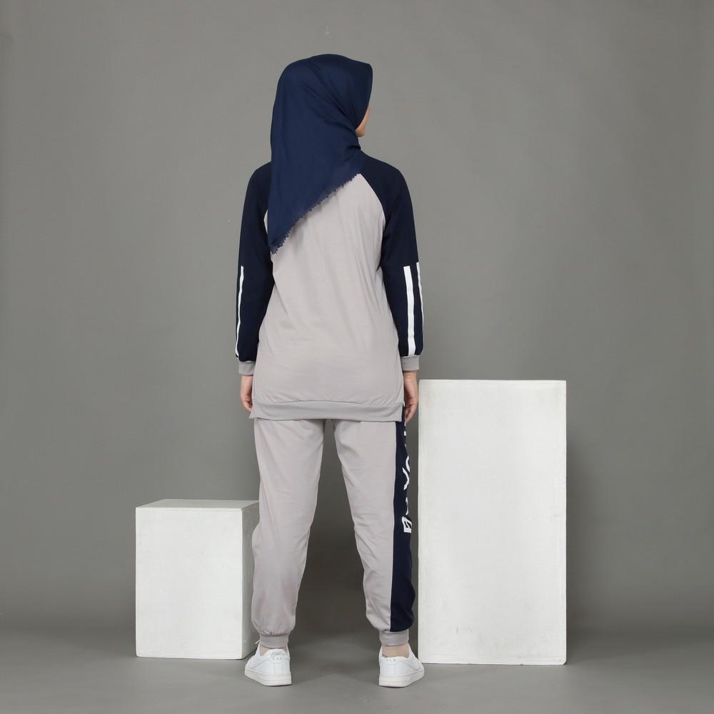 setelan kaos panjang hijabers